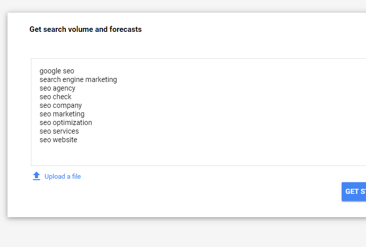 Google Adwords keyword research tool and planner API ⓴⓳