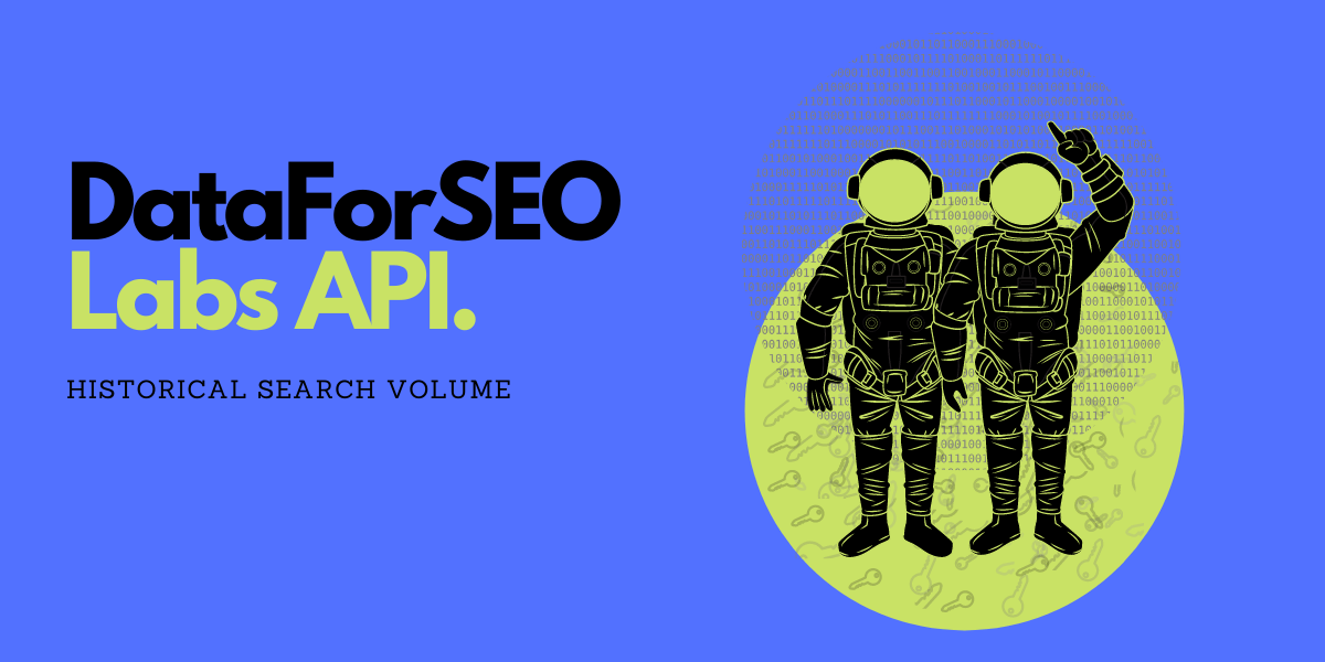 historical search volume DataForSEO