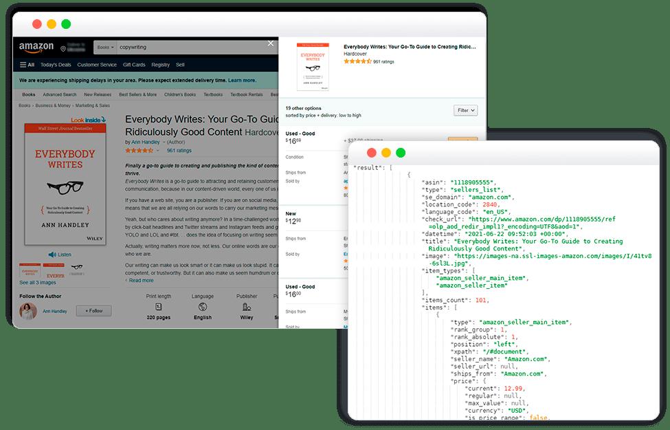Amazon Sellers API