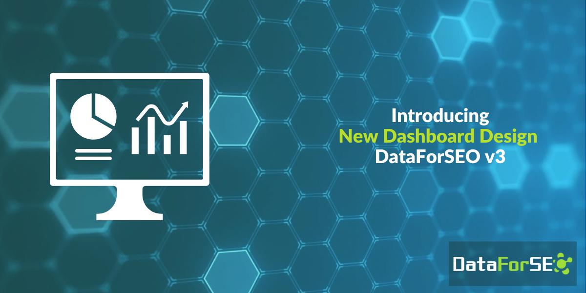 New Dashboard Design v3
